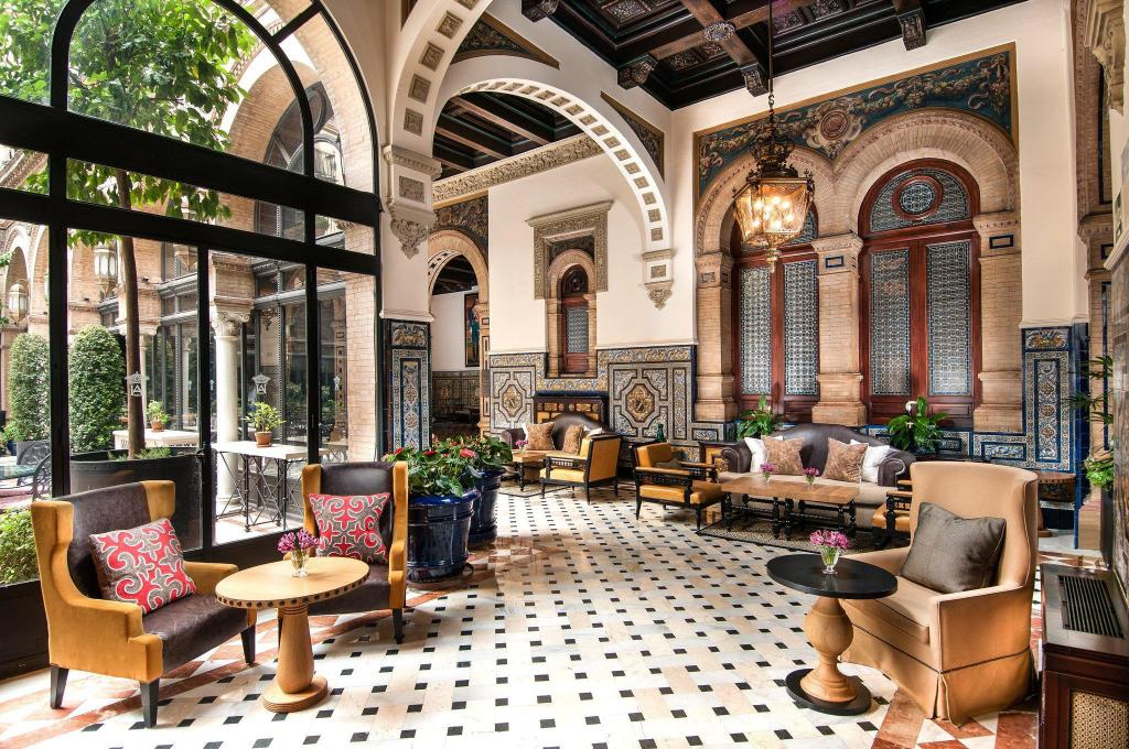Lobby Hotel Alfonso XIII, a Luxury Collection Hotel, Seville
