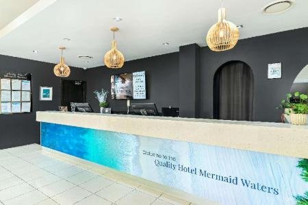 Lobby Quality Hotel Mermaid Waters
