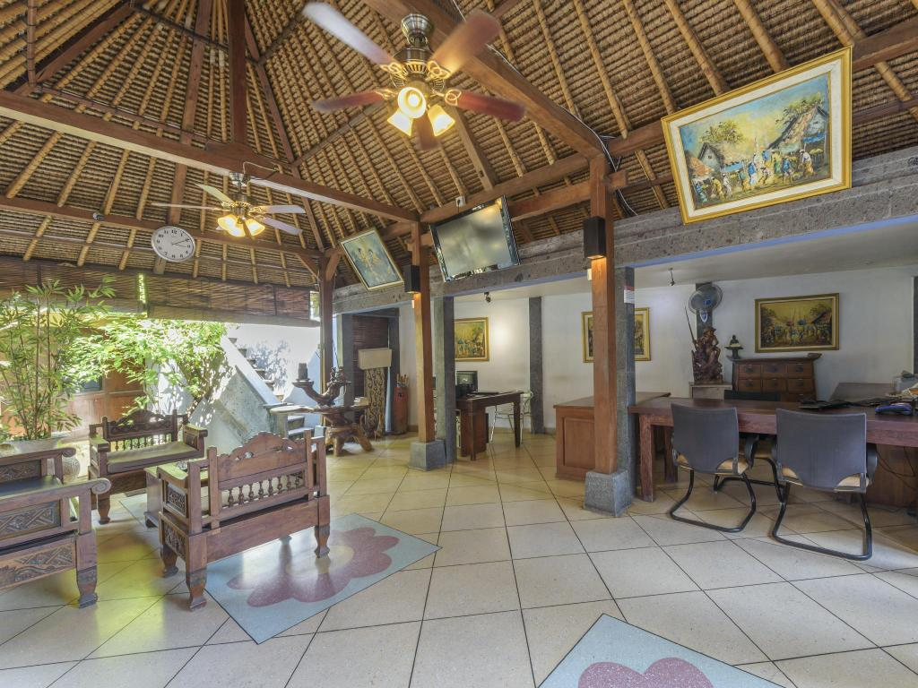 Lobby Putu Bali Villa And Spa Hotel