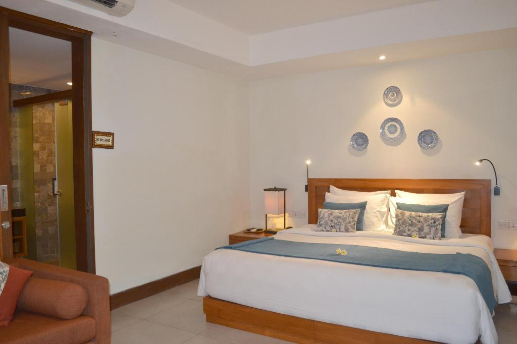 Deluxe Studio (Second Floor) - Bed Rama Garden Hotel Bali