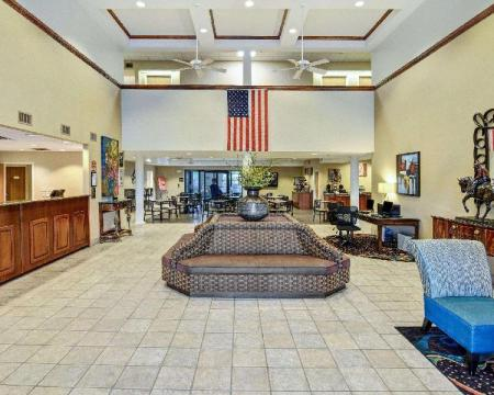Lobby Comfort Inn and Suites Hot Springs