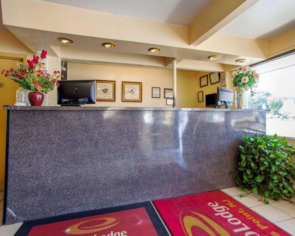 Lobby Econo Lodge Somers Point