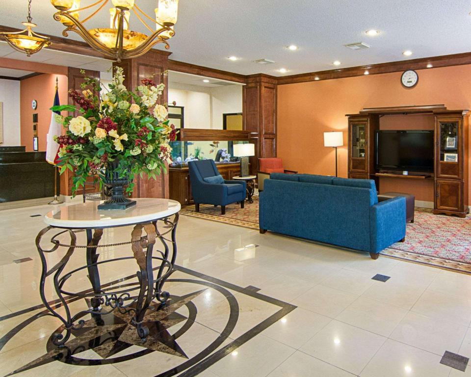 Lobby Comfort Inn and Suites Houston West-Katy