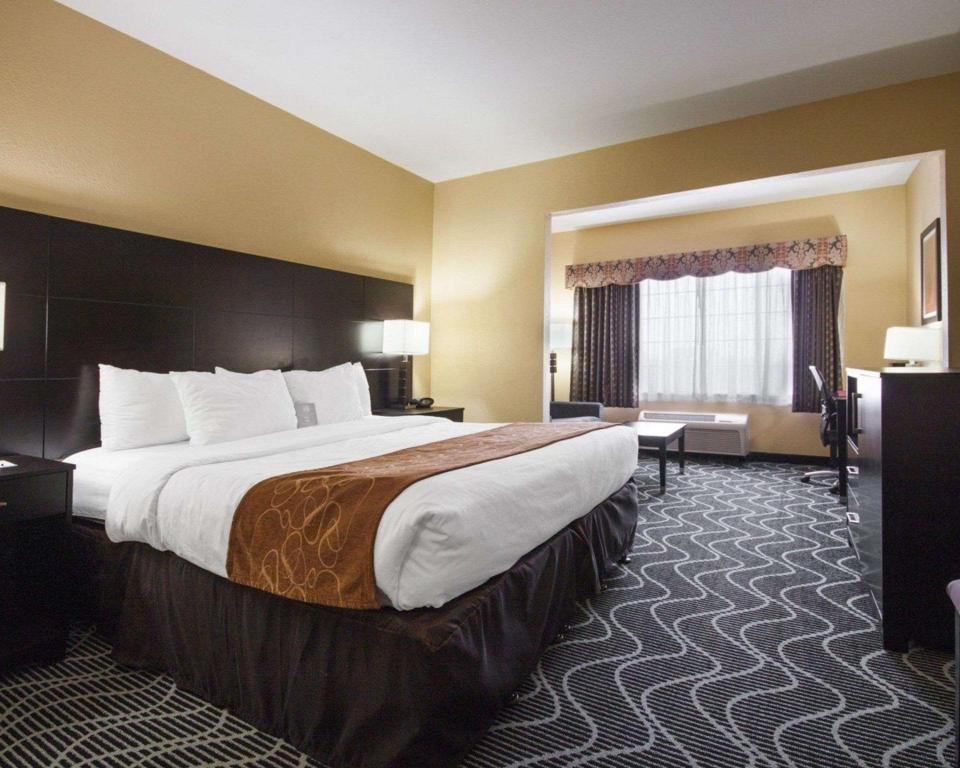 1 King Bed Suite No-Smoking Room - Guestroom Comfort Suites Lake Ray Hubbard