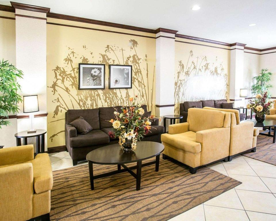 Lobby Sleep Inn & Suites New Braunfels