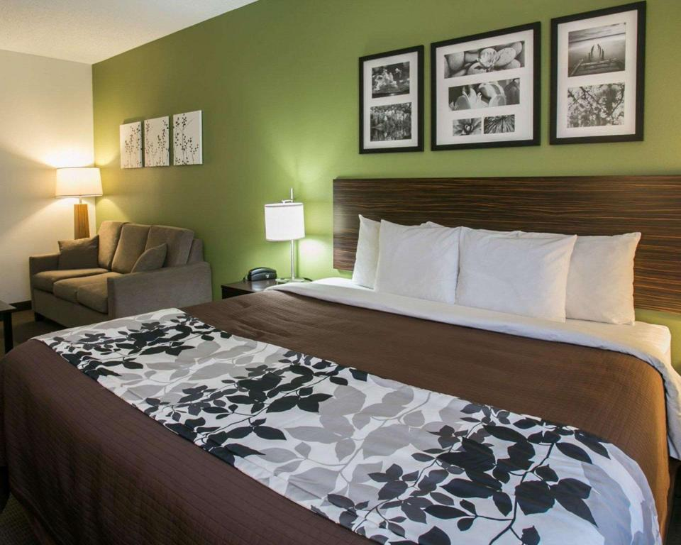 Suite with 1 King bed and Sofabed - No Smoking - Suite room Sleep Inn & Suites