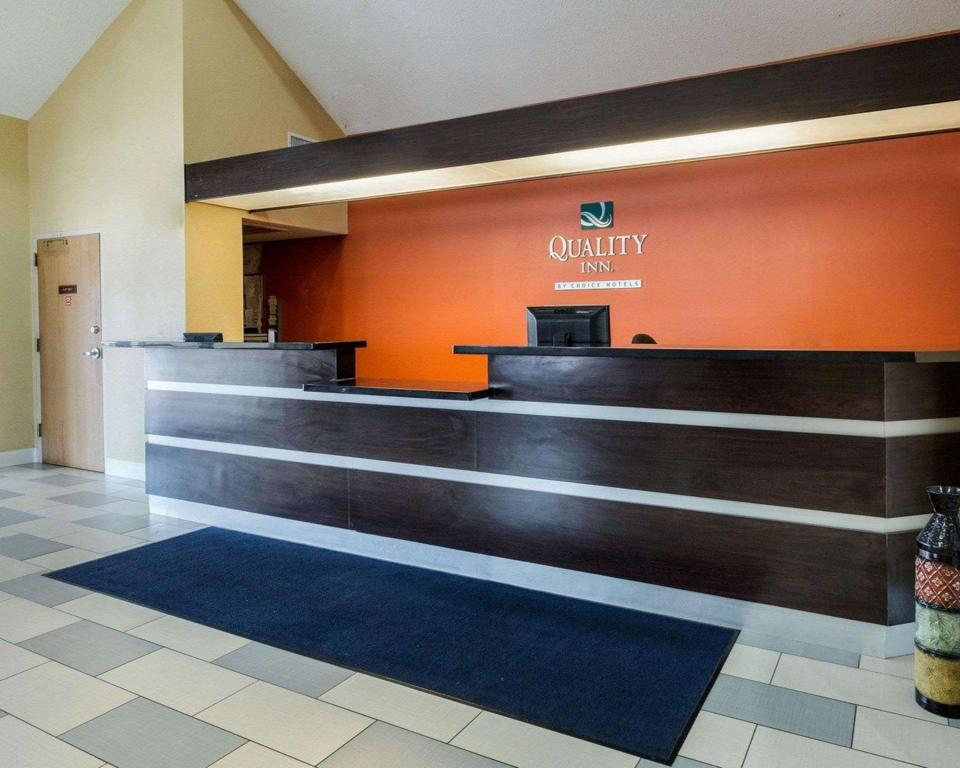 Lobby Quality Inn Baytown - Houston East