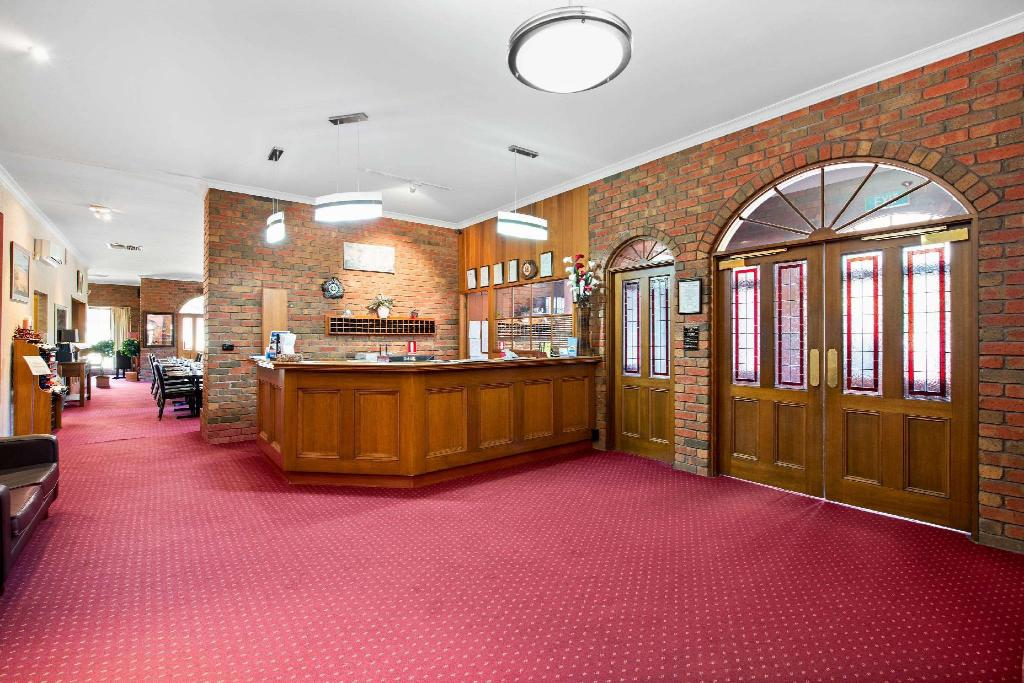 Lobby Comfort Inn Country Plaza Halls Gap