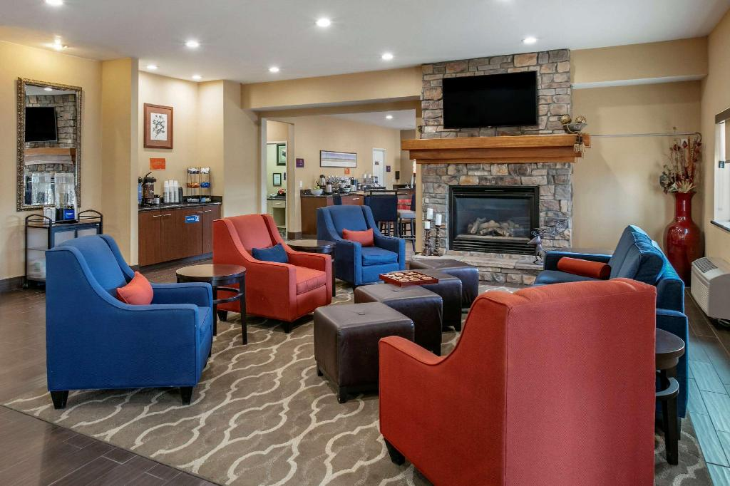 Lobby Comfort Inn Fort Collins North