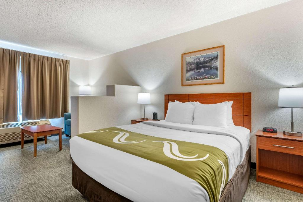 1 Queen Bed Business Room, Non-Smoking Accessible - Suite room