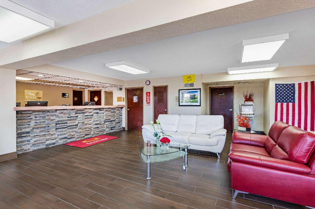 Lobby Econo Lodge Downtown