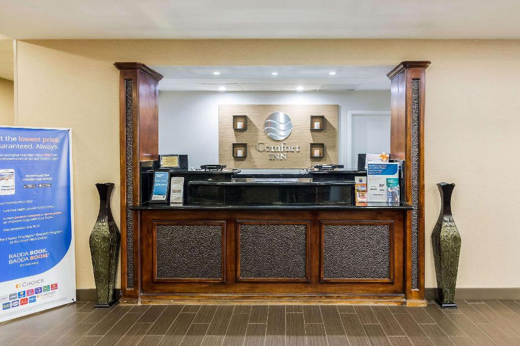 Lobby Comfort Inn Pensacola - University Area