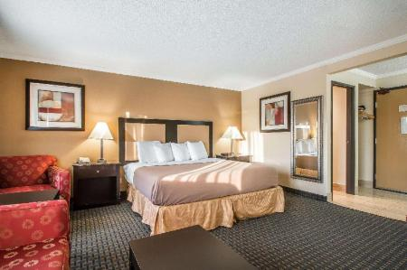1 KING BED SUITE NONSMOKING - Suite room Quality Inn Hoffman Estates - Schaumburg