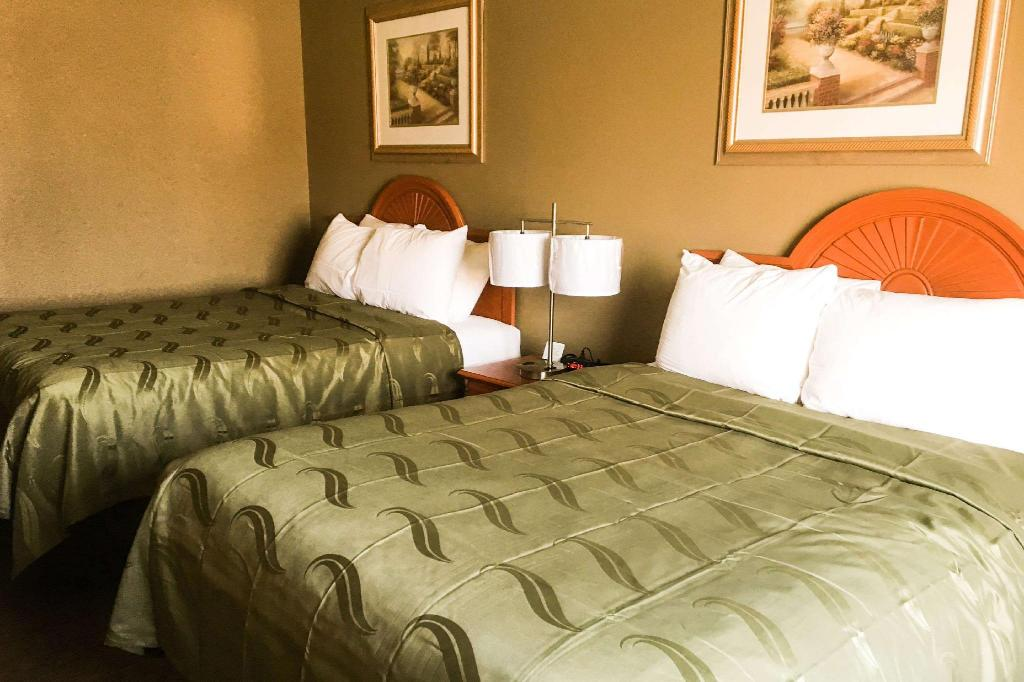 2 Queen Beds, Non-Smoking - Guestroom Quality Inn & Suites Lincoln near I-55