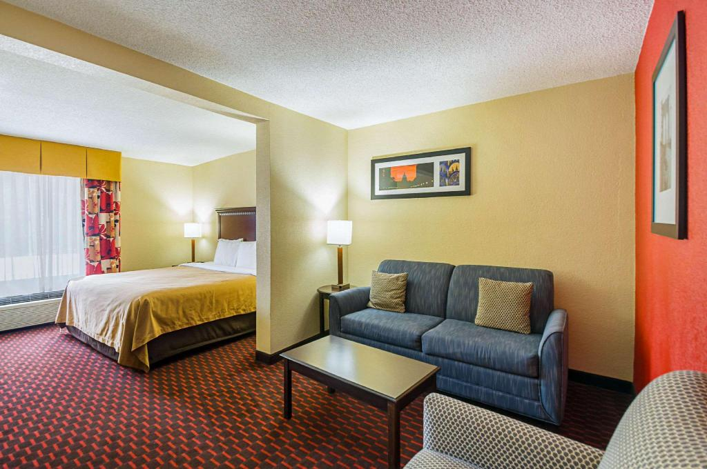1 King Bed Nonsmoking - Suite room