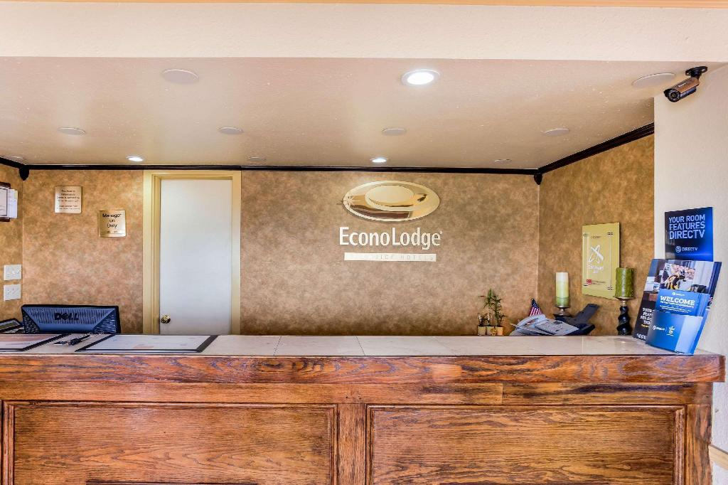 Lobby Econo Lodge McAlester