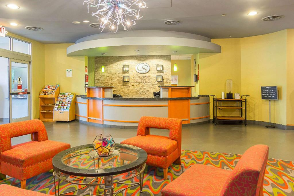 Lobby Comfort Suites At Virginia Center Commons