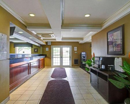 Лобби Suburban Extended Stay Hotel Wash. Dulles