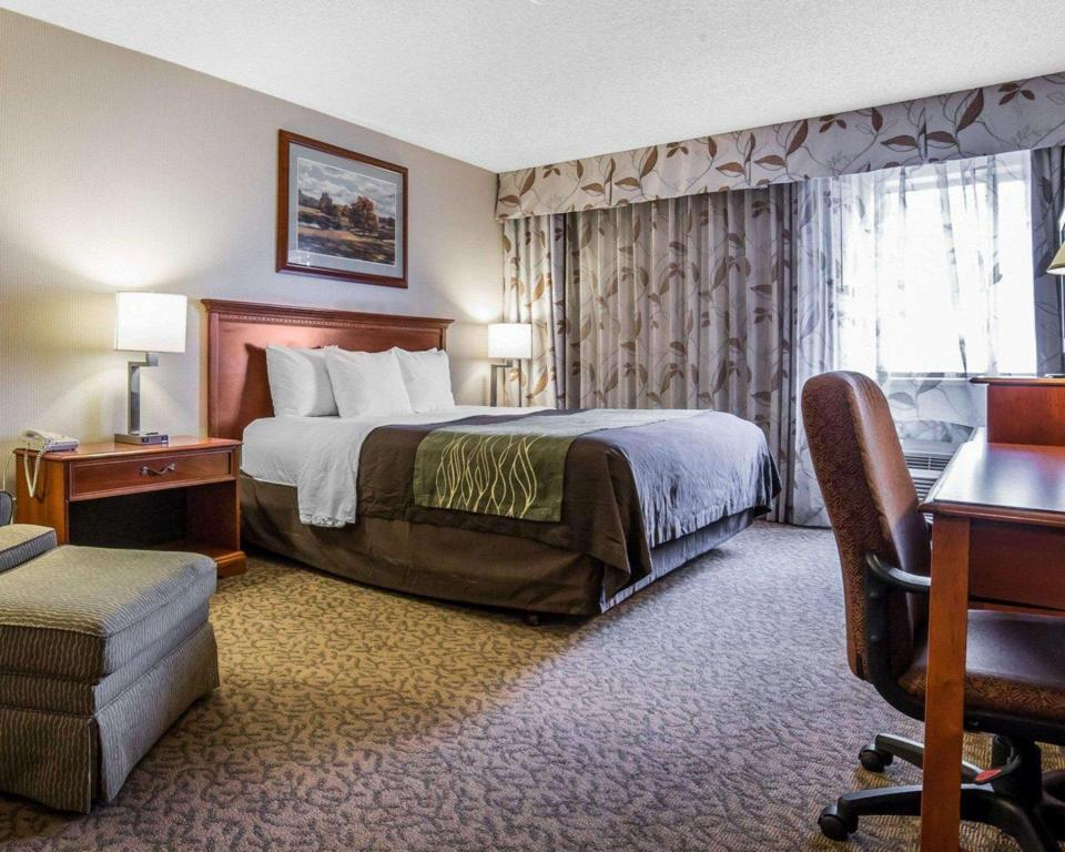 1 King Bed - No Smoking - Guestroom Comfort Inn at Buffalo Bill Village Resort
