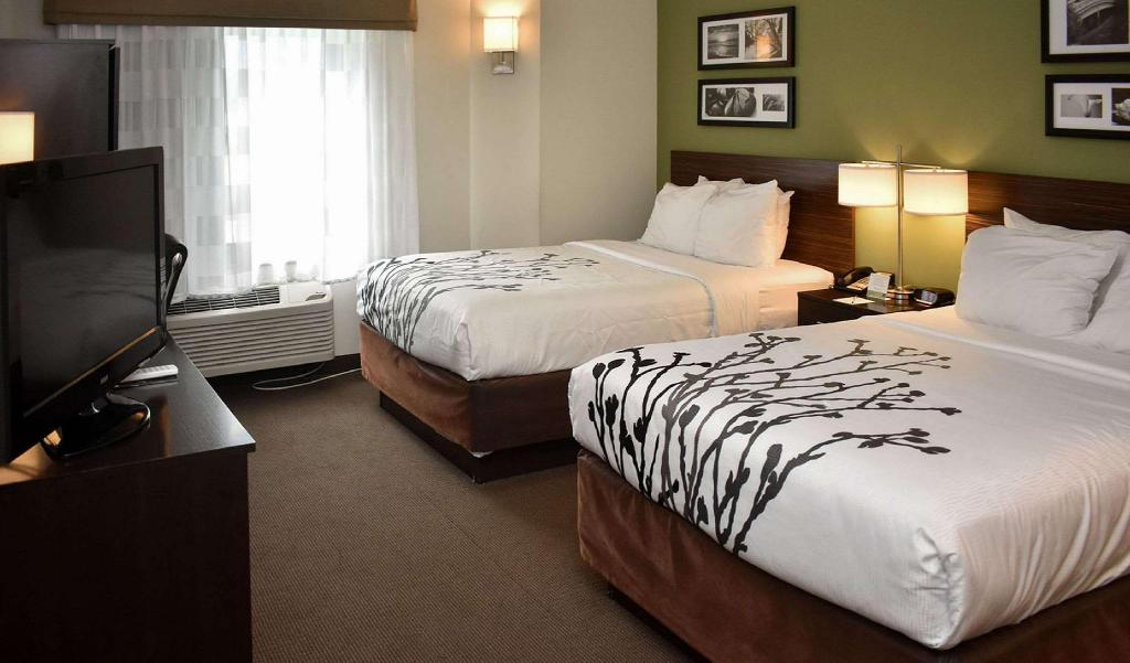 2 Double Beds Nonsmoking - Guestroom