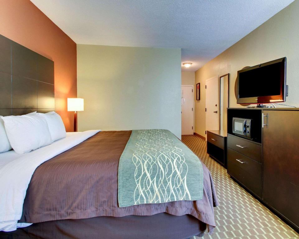 1 King Bed Accessible Room Smoke Free - Guestroom