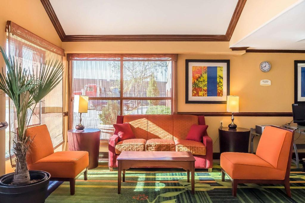 Lobby Quality Inn Spring Valley-Nanuet
