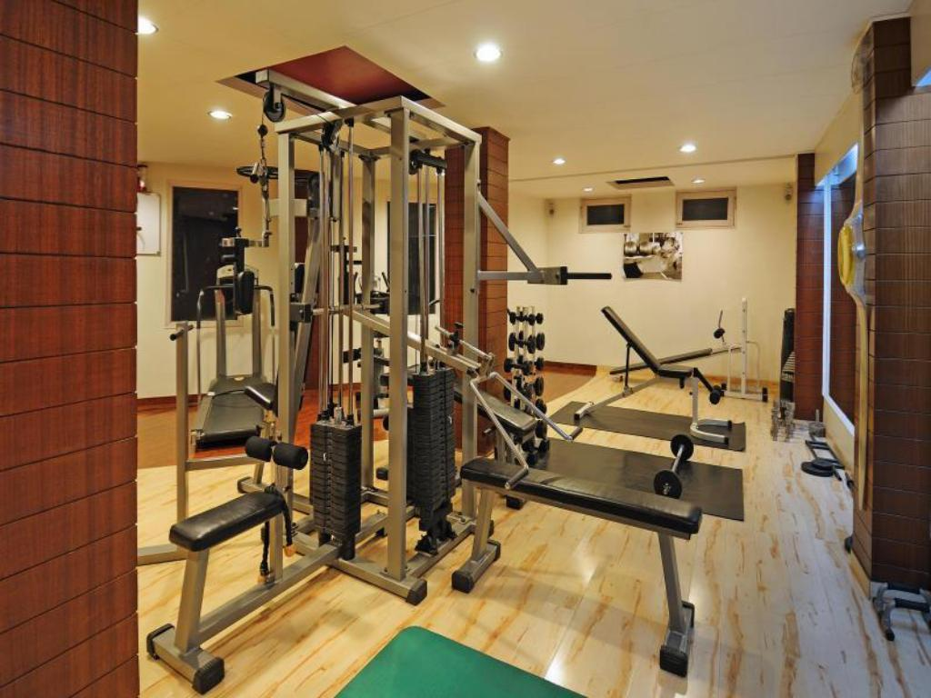 Fitness center Quality Inn River Country