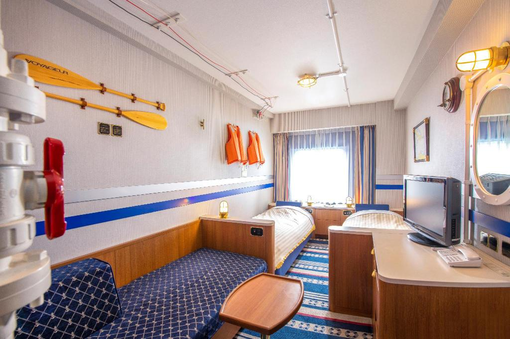 Cruising Cabin Style Room - Non-Smoking - Guestroom Tokyo Bay Maihama Hotel First Resort