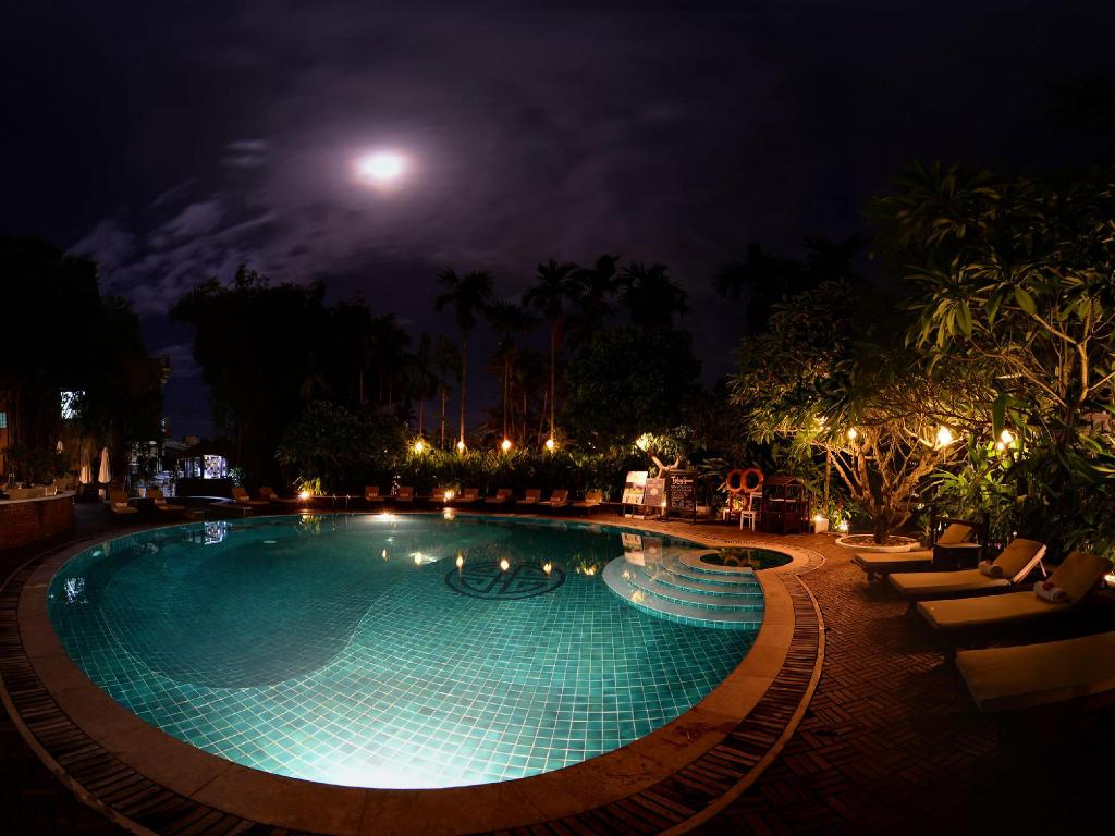 utomhuspool Hoi An Ancient House Resort & Spa