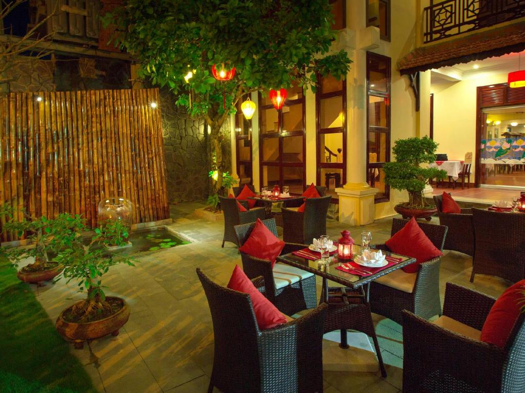 Hotellet indefra Lotus Hoi An Boutique Hotel & Spa