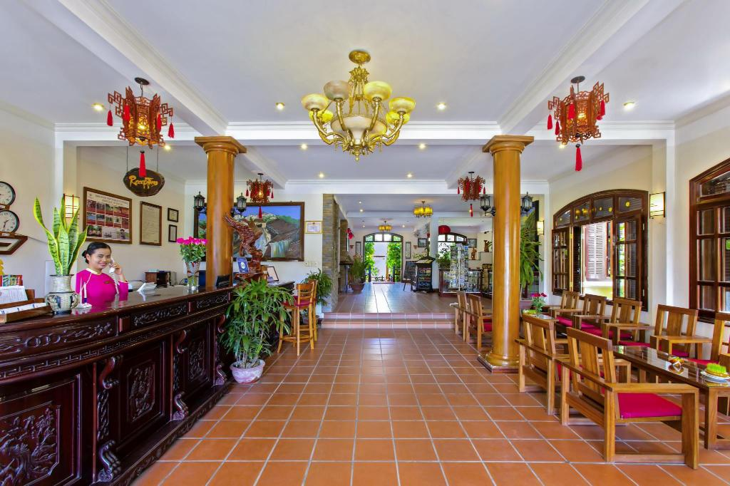 Lobby Lotus Hoi An Boutique Hotel & Spa