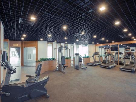 Fitness center Millennium Harbourview Hotel Xiamen