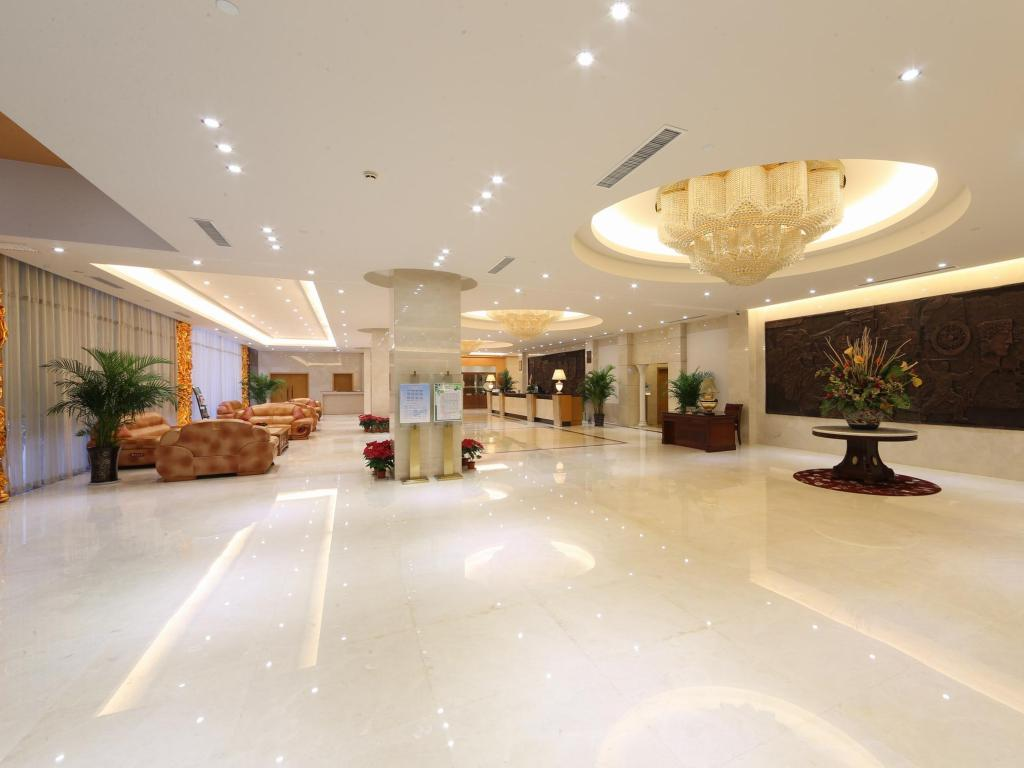 Lobby Xian Aurum International Hotel