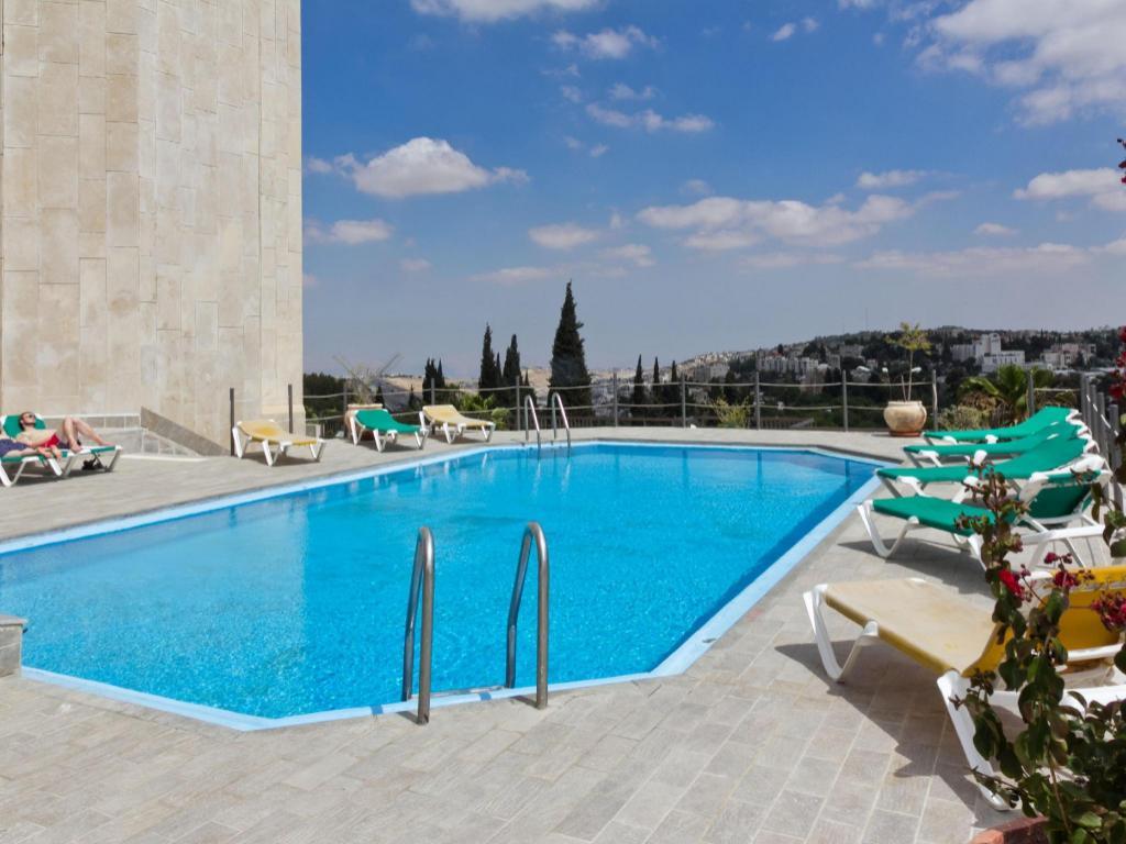 King David Hotel Jerusalem Swimming Pool