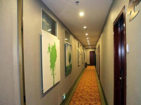 Interior view GreenTree Inn ChongQing LiangLuKou Subway Station Express Hotel