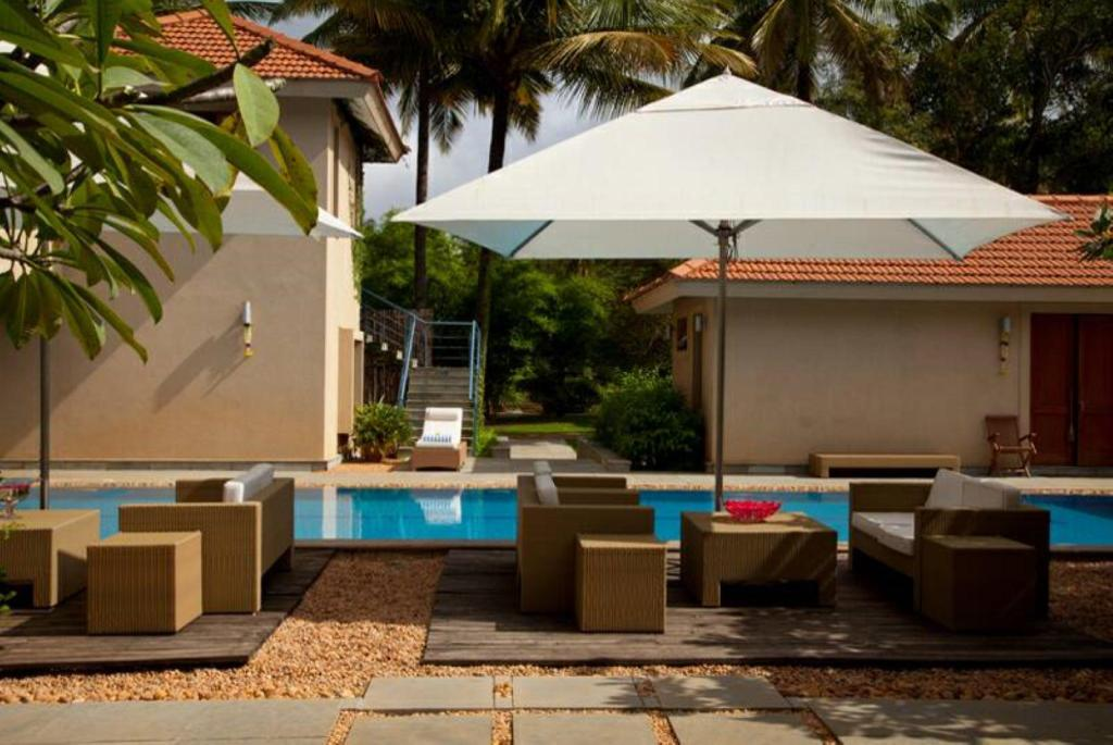 Swimming pool [outdoor] Shreyas Yoga Retreats