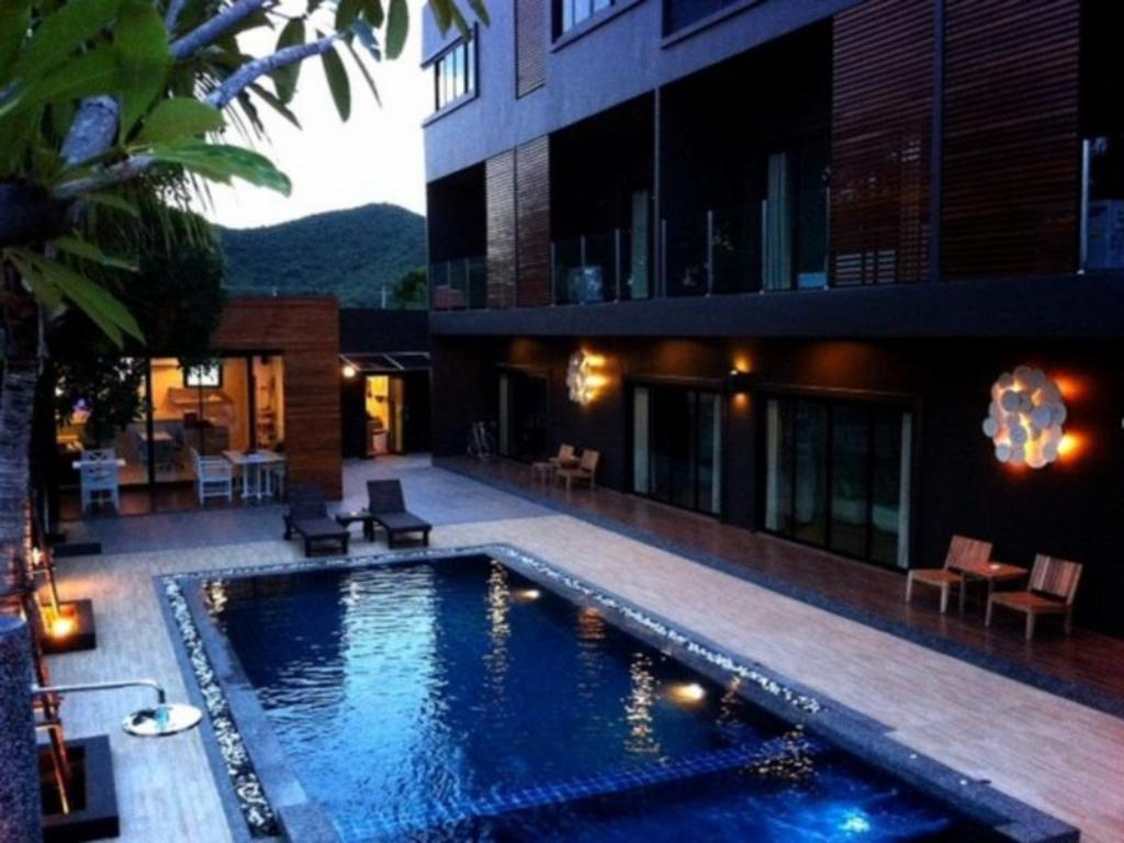 Swimming pool [outdoor] Villa Gris Pranburi