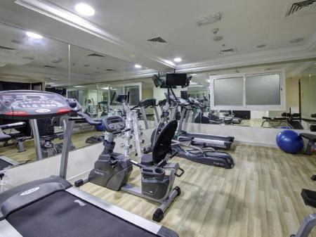Fitness center Adamo Hotel Apartments