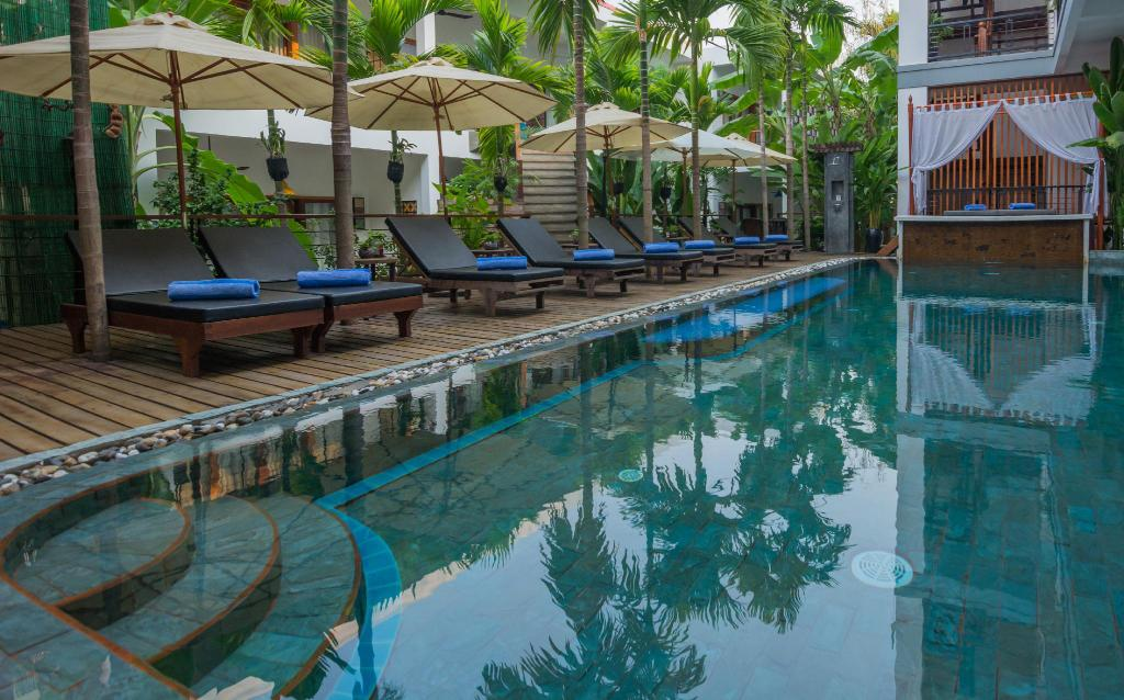Swimming pool [outdoor] Diamond D'Angkor Boutique