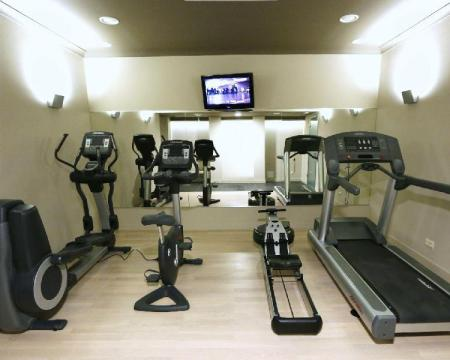 Fitness center Best Western Grand Hotel
