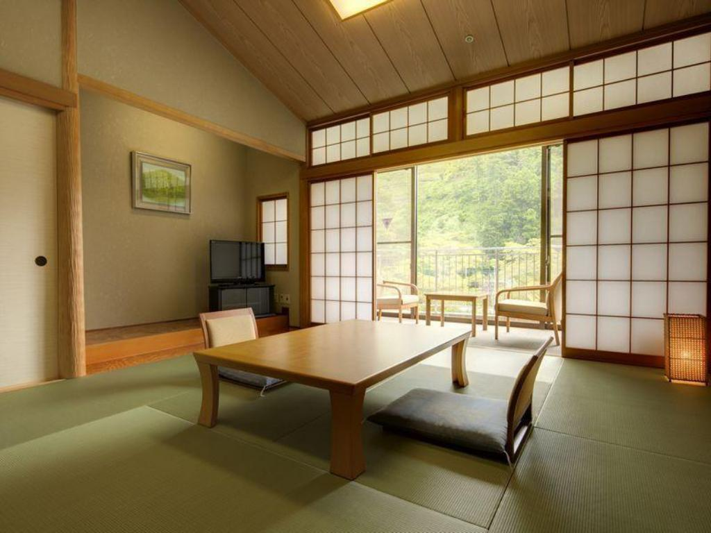 Japanese Style with Shared Bathroom 1 Kyukamura Oku-Musashi National Park Resorts of Japan