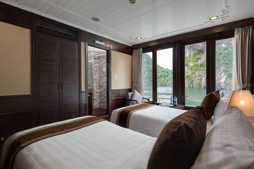 Suite 3D2N Full Board (Lunch-Dinner-Breakfast) - Guestroom Halong Glory Legend Cruise