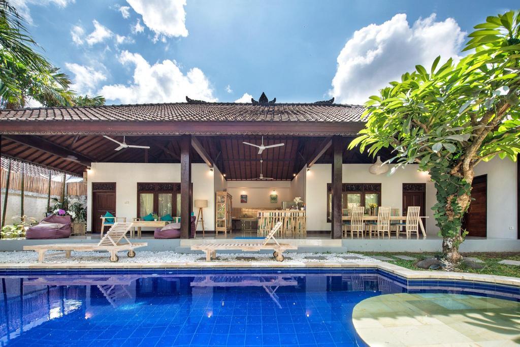 Stylish 2 Bedrooms Villa Private Pool In Seminyak Entire Villa Bali Deals Photos Reviews