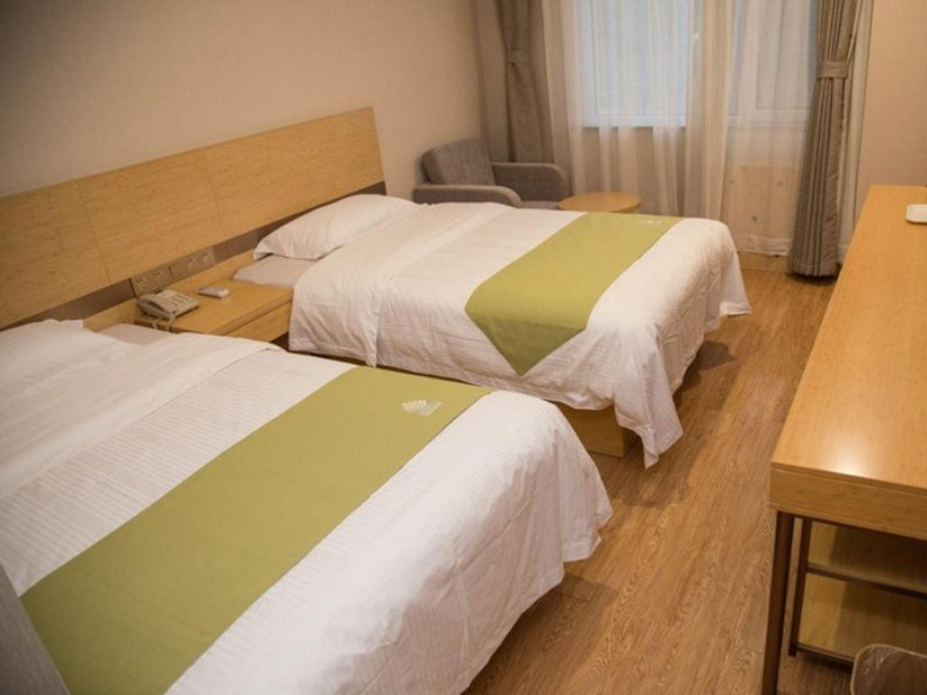 Guest Twin Room GreenTree Alliance Chengde Shuangqiao District Mountain Resort Branch