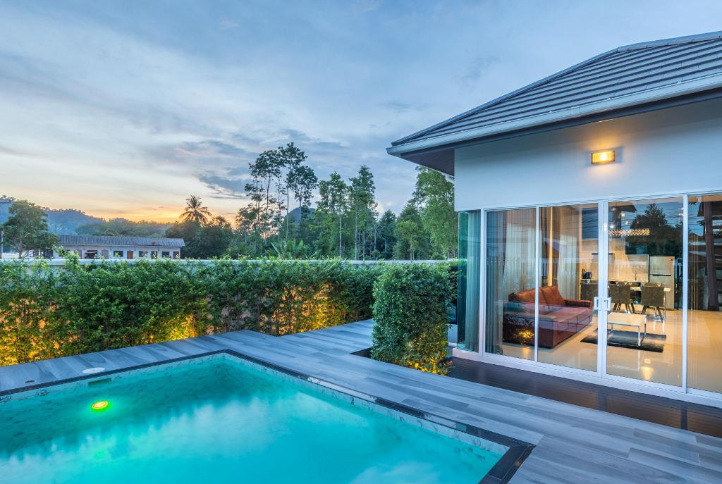 3 Bedroom Pool Villa - Exterior view The Haven Krabi