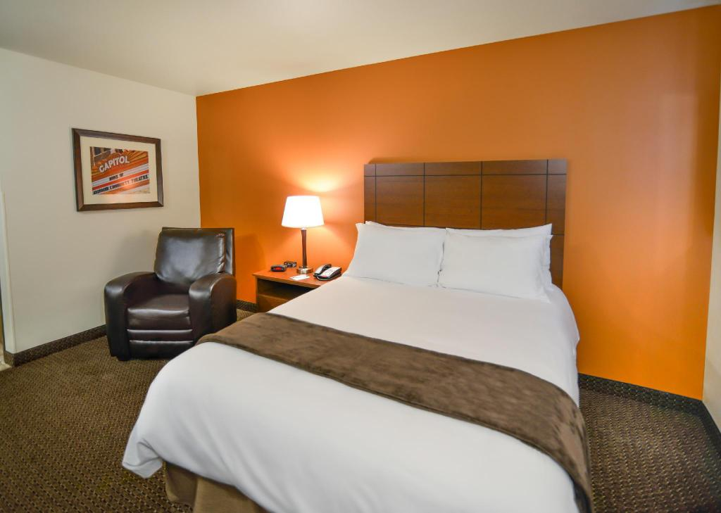1 Queen Bed - غرفة نوم My Place Hotel-  Nashville East I-40/Lebanon, TN