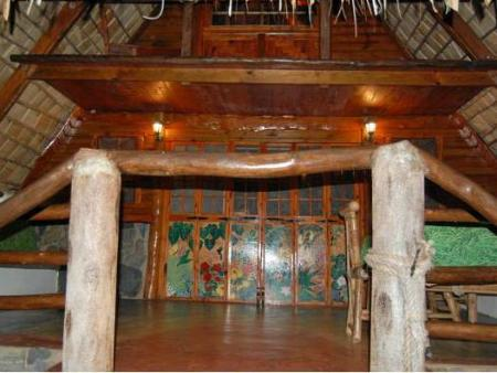 Interior view Chalet Tropical Village B&B