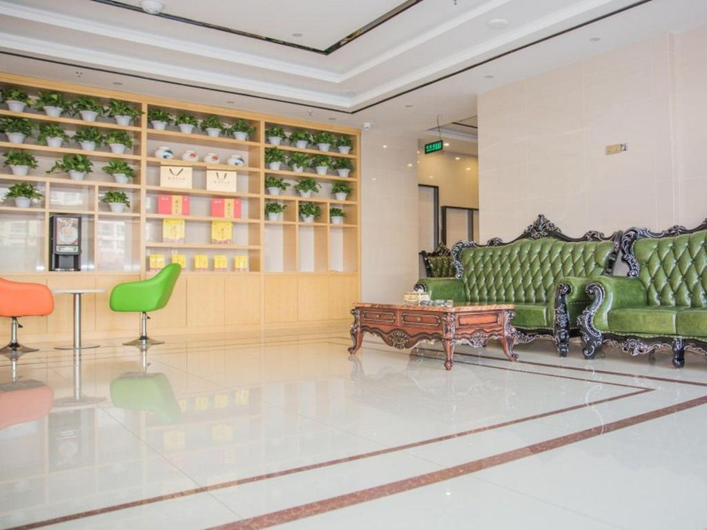 Lobby GreenTree Inn Chengde Fengning Theater Business Hotel