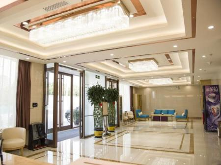 Лоби GreenTree Inn Jinan Licheng District Jichang Road Yaoqing Airport Business Hotel