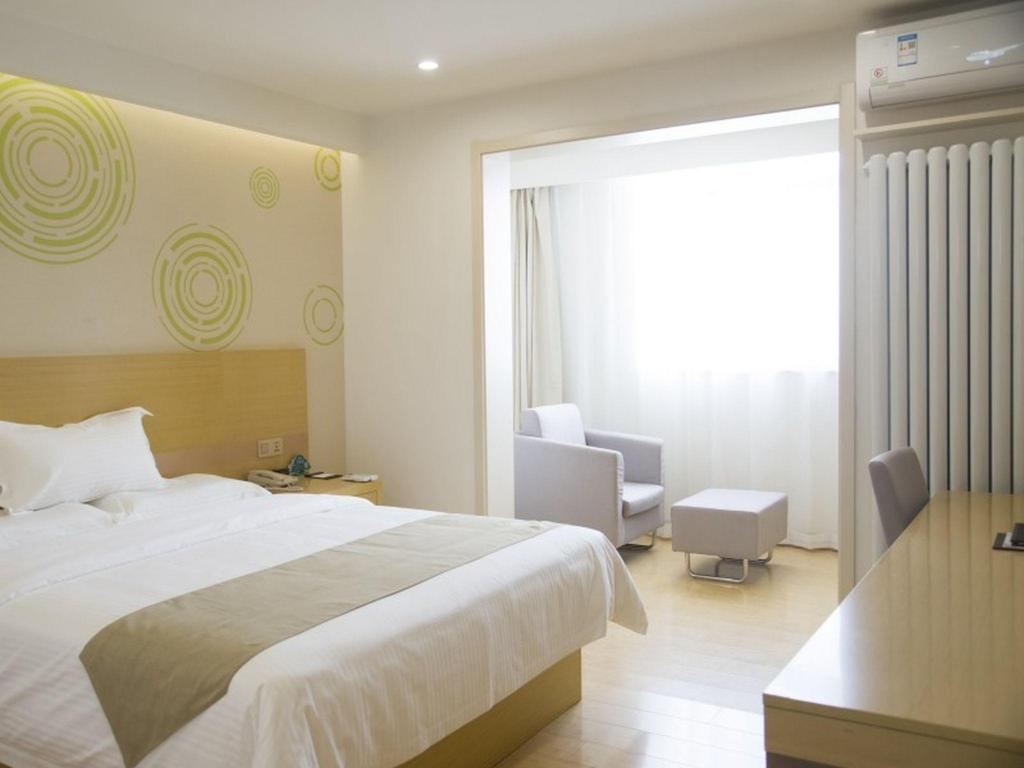 Бизнес суит GreenTree Inn Jinan Licheng District Jichang Road Yaoqing Airport Business Hotel